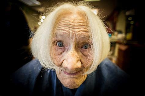 grandma s grandma s got a sassy new hairdo one l short of normal