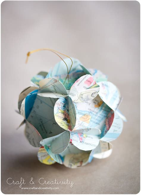 How To Make Paper Balls For Decoration - 27 crafty paper decorations and ornaments all