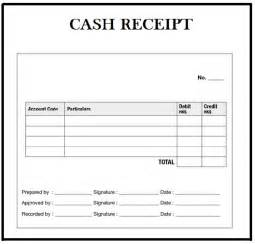 Money Receipt Template by Free Receipt Template In Word Excel Pdf Format