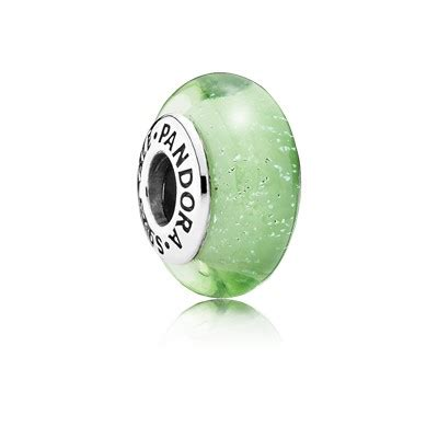 Disney Ariel Silver Charm With Green Fluorescent Murano Glass P 10 disney tinkerbell silver charm with green fluorescent murano glass 791639 charms pandora