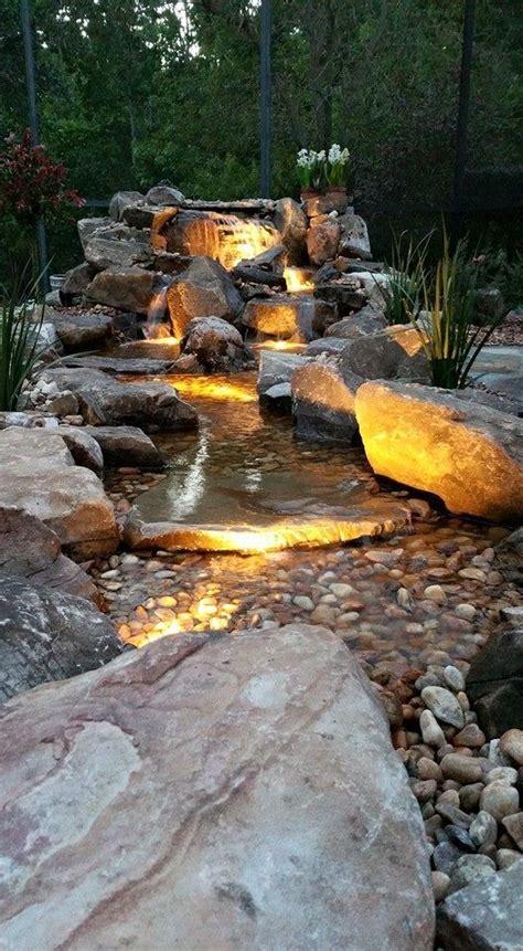 Gartengestaltung Mit Wasserfall by Die Besten 25 Teich Wasserfall Ideen Auf