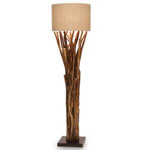 umber rustic lodge bundled branches floor lamp 20 inch