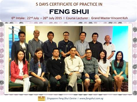I Ching Wisdom Revealed Vincent Koh Diskon singapore feng shui centre articles 6th intake 5 day