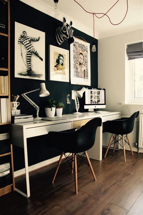 black home office desk 25 best ideas about black office on black
