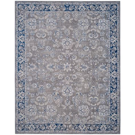 10 Ft Gray Blue Rugs by Safavieh Artisan Gray Blue 8 Ft X 10 Ft Area Rug Atn324a
