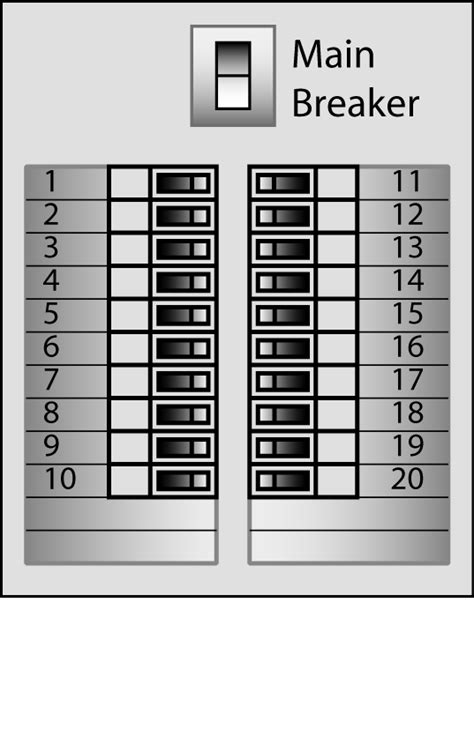 breaker box label template 29 images of electrical panel box labeling template infovia net