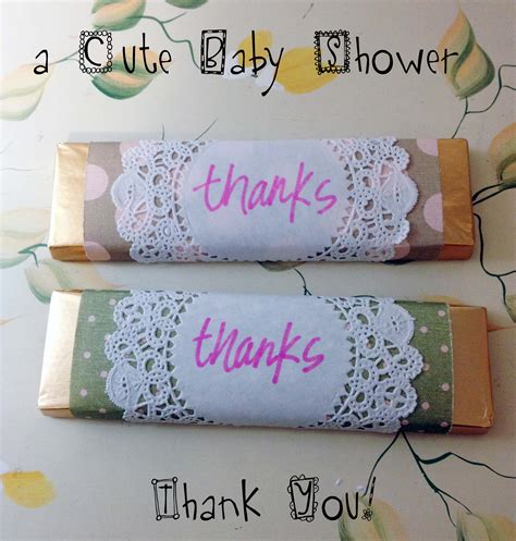 Thank You Baby Shower Gifts by Photo Diy A Baby Image