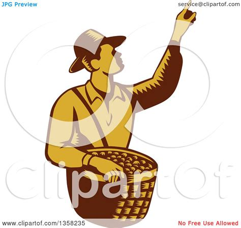 clipart of a retro woodcut clipart of a retro woodcut brown and yellow farm