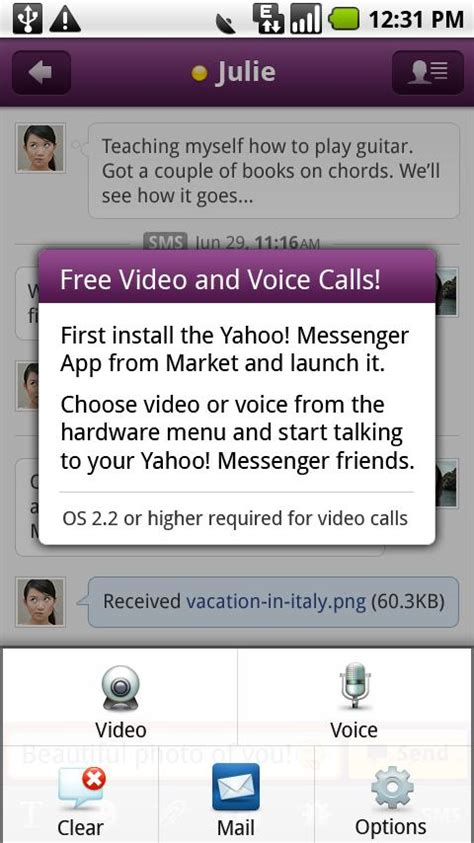 yahoo messenger plugin
