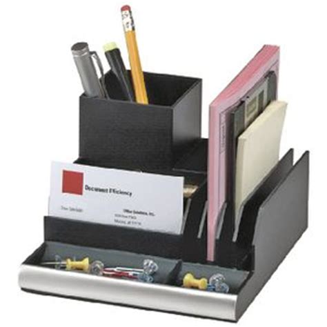 Officeworks Desk Accessories Italplast Desk Organiser Black Officeworks