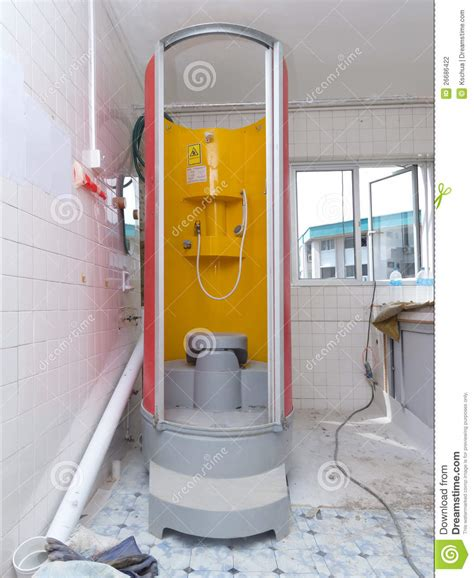 temporary bathroom temporary wc and bathroom unit stock photography image