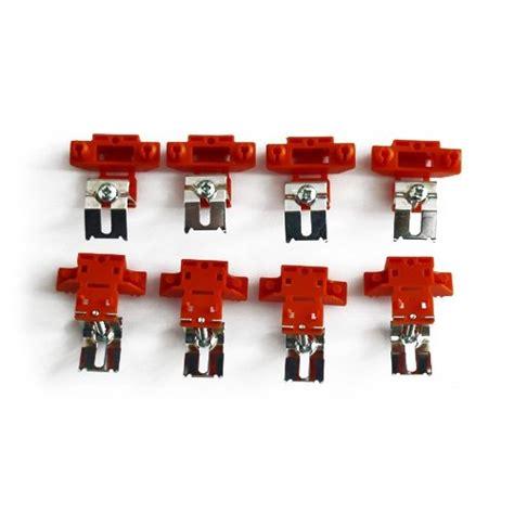 k cheninstallation 8er set montageklammern f 252 r auflagesp 252 len schock