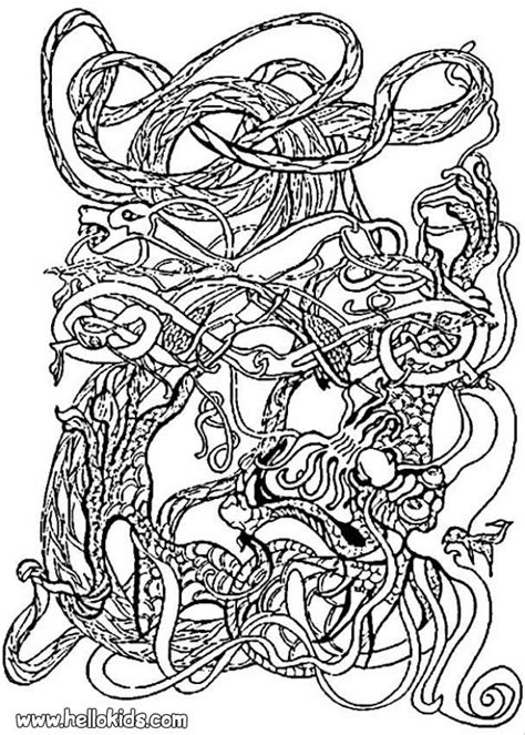 Celtic Coloring Pictures