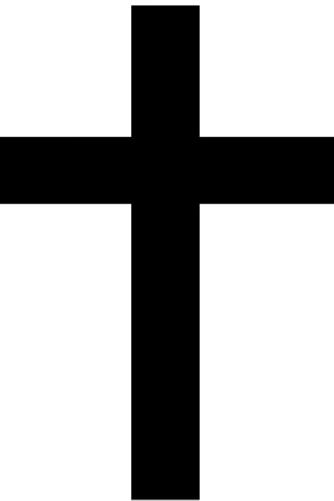 Cross Outline by Cross Outline Clipart Best
