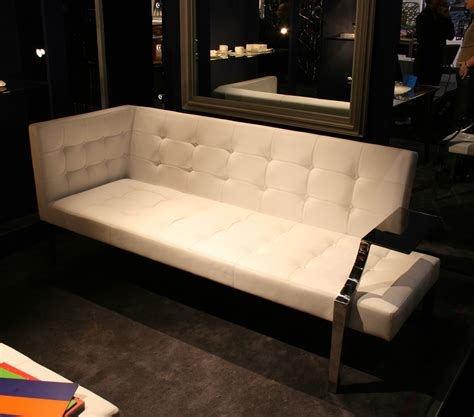 straight line sofa designs monseigneur straight sofa white leather by driade