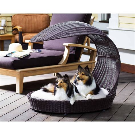 12 Beautiful Dog Beds That Will Instantly Enhance Your Outdoor Furniture For Dogs