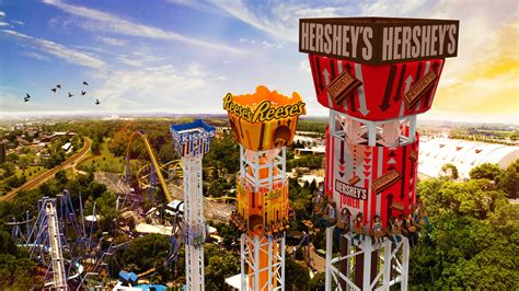 Gift Cards For Hershey Park - hersheypark announces hershey triple tower opening in 2017