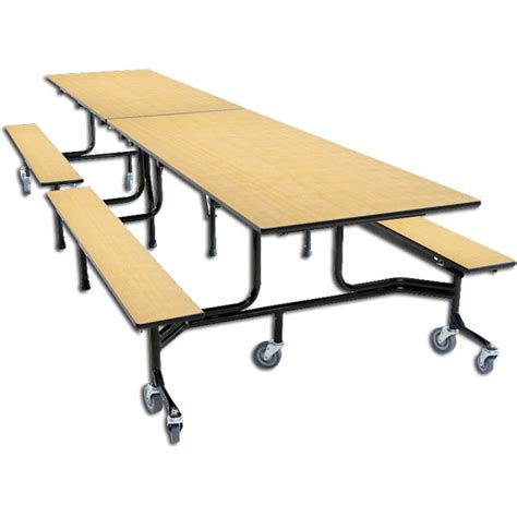 cafeteria bench 63t series mobile bench cafeteria tables schoolsin