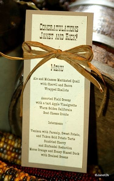 themed dinner menu sneak peek at a dinner in the great ride the