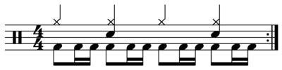 drum pattern wiki drum beat wikipedia