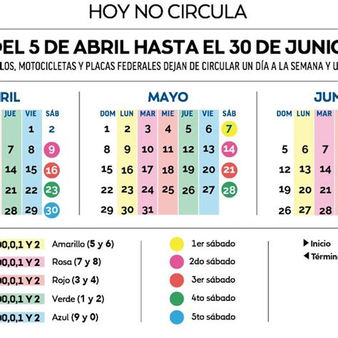 doble no circula mayo 2016 calendario doble hoy no circula 2016 calendario no