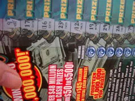 How To Win Big Money On Scratch Offs - scratch off 10 big money ohio instand lottery ticket win up to 1 000 000 youtube