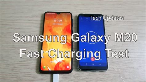 samsung galaxy m20 5000mah battery charging time test