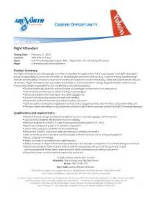 Flight Attendant Resume Exle by Flight Attendant Resume Templates Free Resume Templates