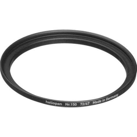 Step Up Ring 67 72mm heliopan 67 72mm step up ring 150 700150 b h photo