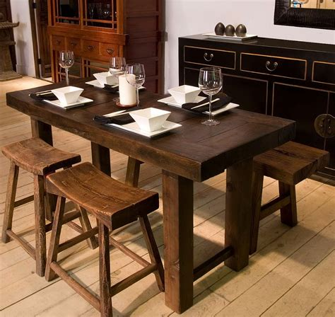 narrow dining table with bench narrow dining tables with benches home design ideas