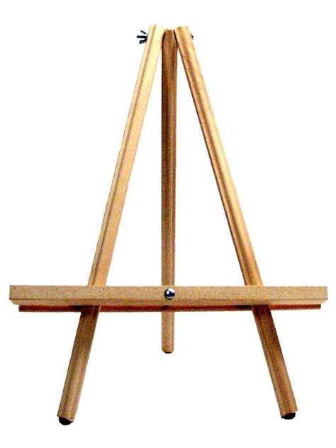How To Make A Paper Easel - richeson jj wooden table easel misterart