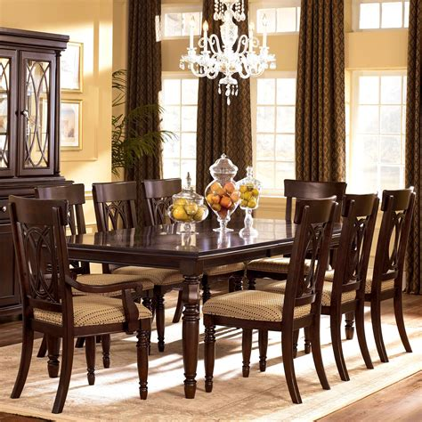 steve silver dining room sets steve silver leona 9 dining room set in