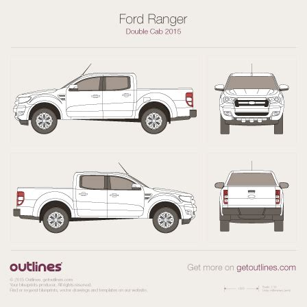first look all new 2011 ford ranger t6 global pickup truck