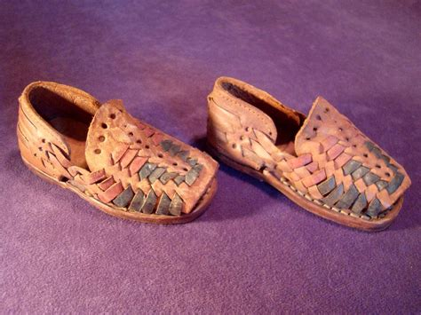 huaraches mexican sandals vintage all leather mexican huaraches sandals infant baby