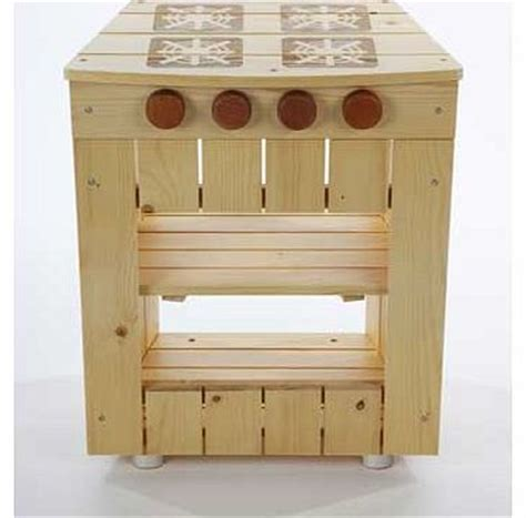 Tidlo Wooden Kitchen by Cook It Play Toys