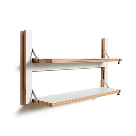 Folding Shelf by Buy Ambivalenz Flapps Folding Shelf 80x40 White