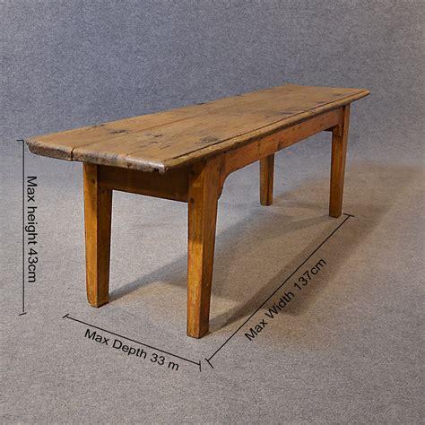 oak bench seat antique bench seat long oak form pew quality antiques atlas
