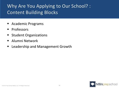 Applying For Mba At 30 by Five Questions You Must Answer In Your Mba Application