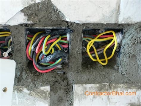concealed wiring home electrical wiring contractorbhai