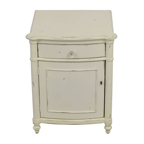 distressed white bedside table nightstand gorgeous distressed white nightstand furniture