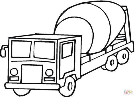 mixer truck coloring page desenho de betoneira para colorir desenhos para colorir