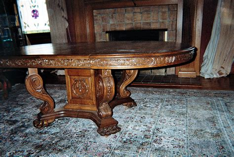 Antique Oak Dining Room Table Oak Dining Room Set For Sale Antiques Classifieds