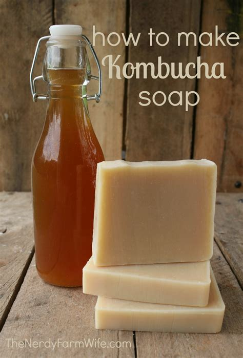 How To Make Handmade Soap Organic - kombucha soap recipe the nerdy farm