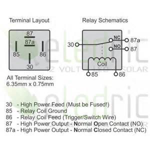12v 40a spst relay diagram 12v free engine image for user manual