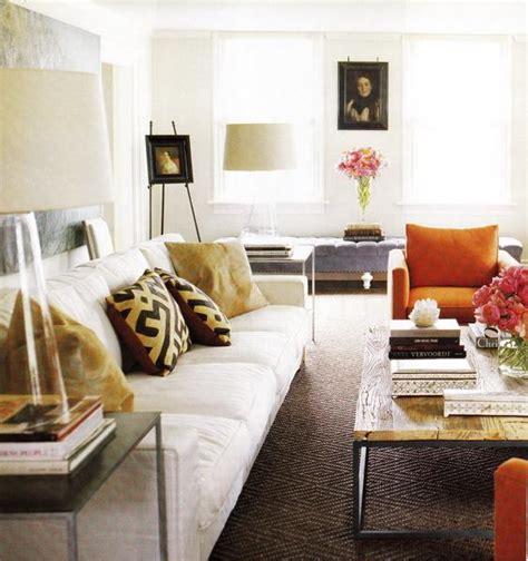 orange accent living room living room