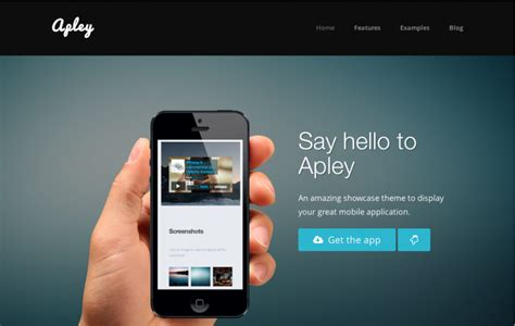 35 Best Mobile App Landing Page Templates Webdesignerhub Mobile App Landing Page Template