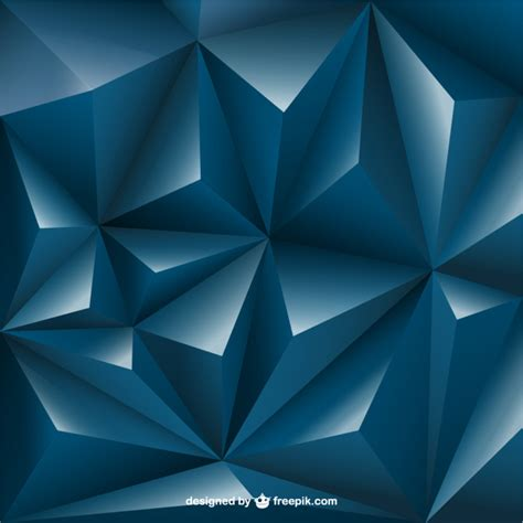 3d design free 3d triangle background vector free