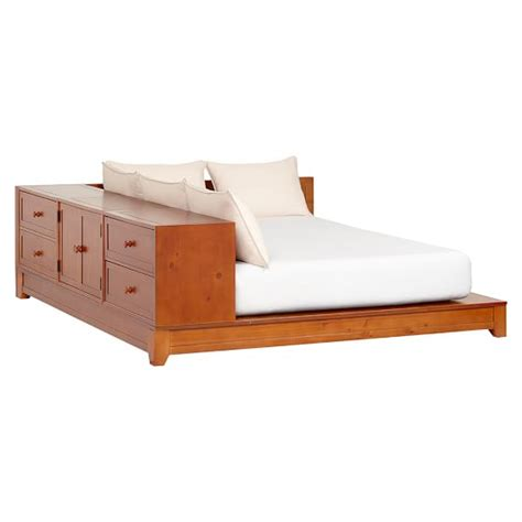 Dresser Storage Bed Set Ultimate Dresser Storage Bed Set Pbteen