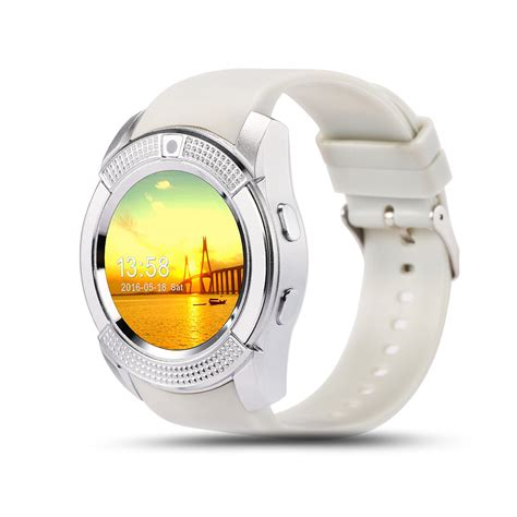 Smart V8 Support Sim Card by 2016 Newest V8 Smart Watches Support Tf Sim Card With 0 3m