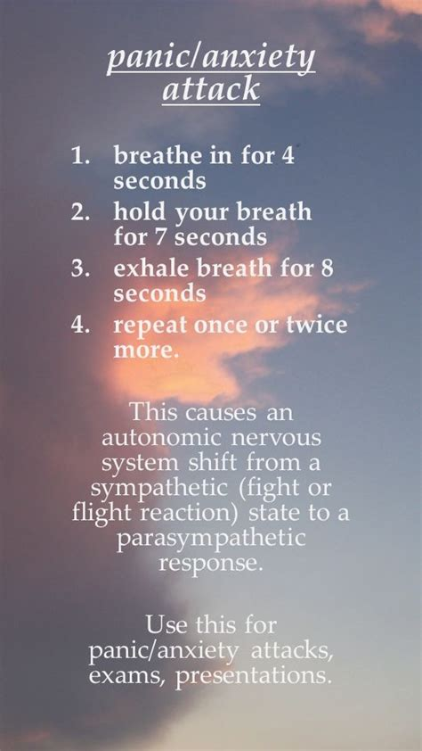 how to an attack how to relieve a panic attack pictures photos and images for